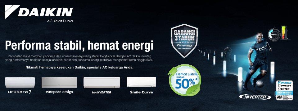 Katalog & Brosur Harga Produk AC Daikin Terbaru