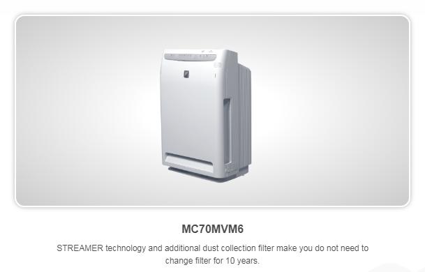 Air Purifier MC70MVM6