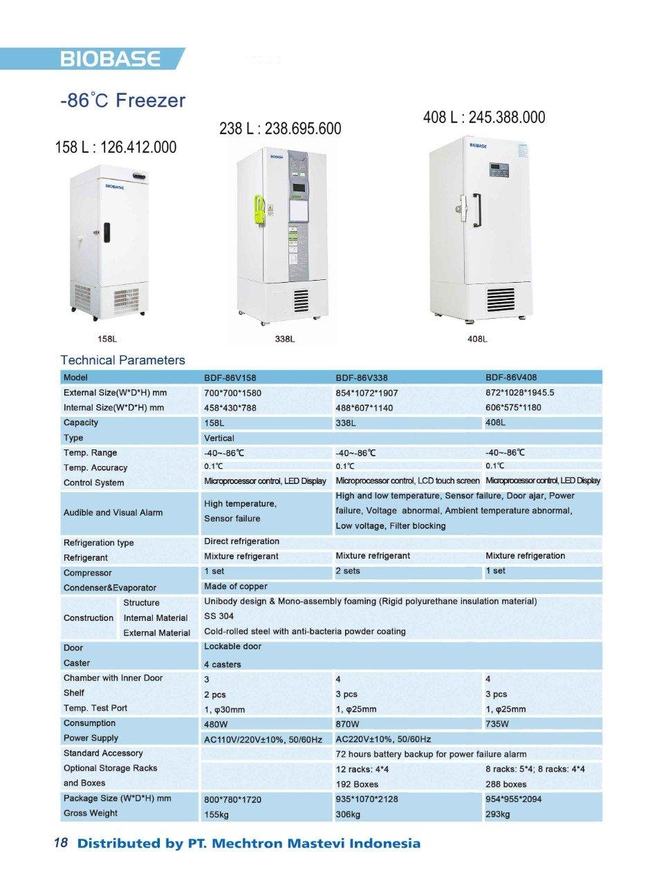 Biobase Cold Storage 1