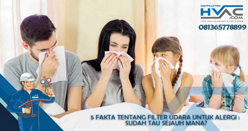 5 Fakta Tentang Filter Udara Untuk Alergi : Sudah Tau Sejauh Mana?