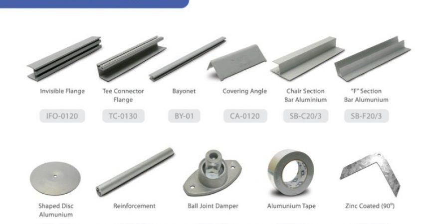 List Harga Aksesoris dan Sparepart Ducting AC