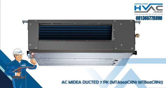 MIDEA DUCTED 7 PK (MTA560CRN1 MTB60CRN1