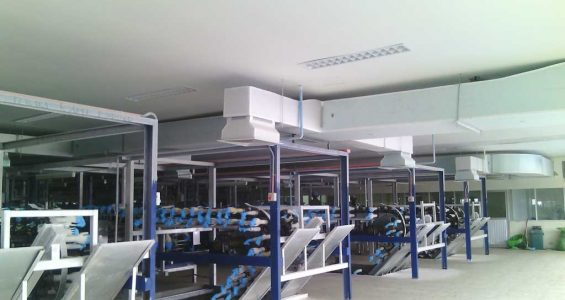 Ducting System Instalasi AC Central